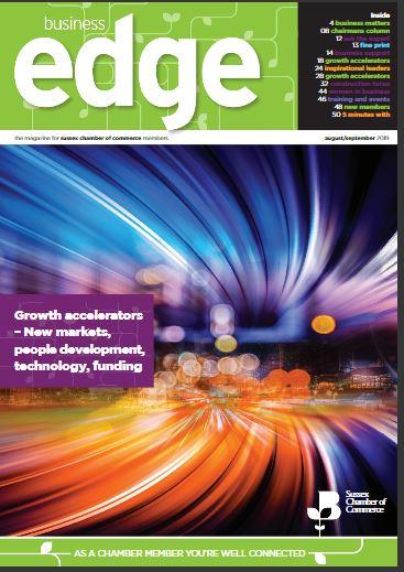 WashPod article in Business Edge Magazine