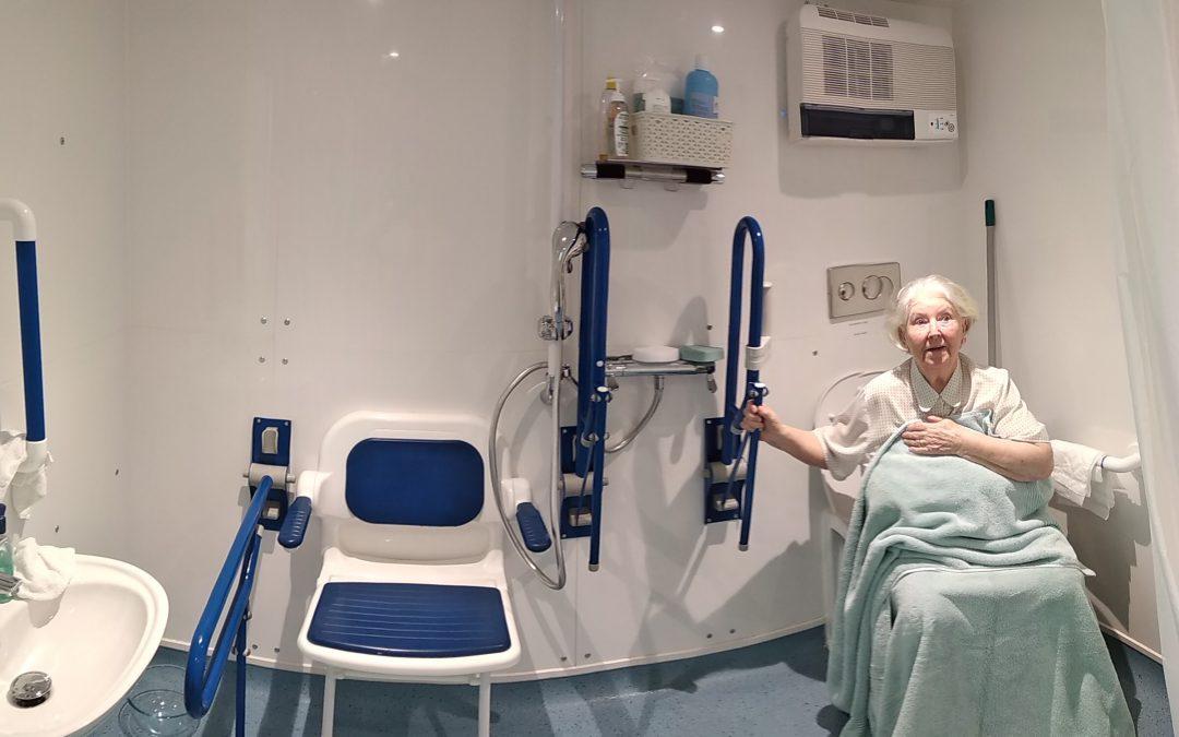 WashPod Helps Elderly Parksinson's Sufferer Stay At Home