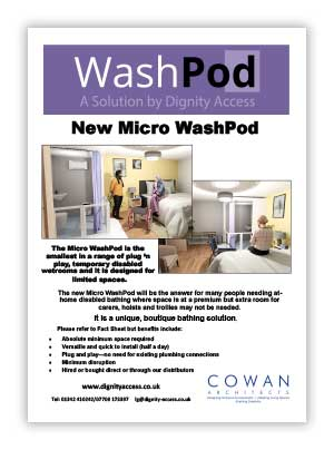 Micro WashPod Brochure
