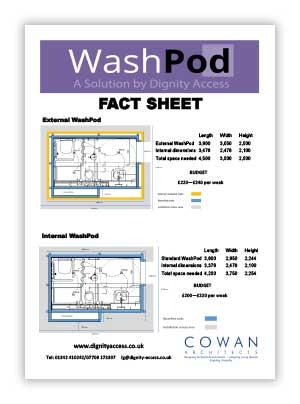 WashPod Fact Sheet