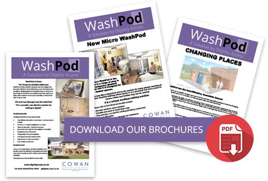 WashPod Brochures